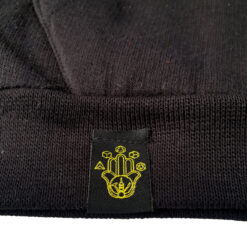 little label on the Manifacto Amsterdam hoodie