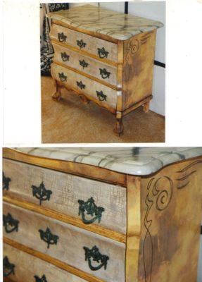 painting, furniture painting, Izhar Rott,