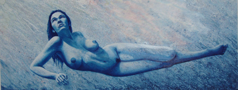 painting, naked art, Izhar Rott,