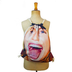 Drawstring bag, recycled bag, backpack
