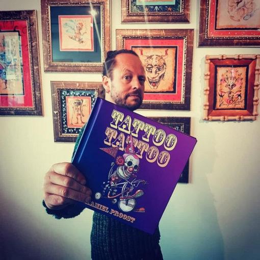 Tattoo Tattoo book, Kamiel Proost, artist book