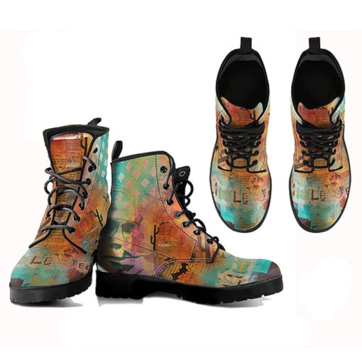 Vegan boots, vegan wear, cruelty-free shoes