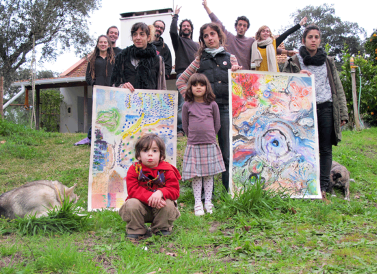Art Jam, Alentejo, Alice in Wonderland, Family