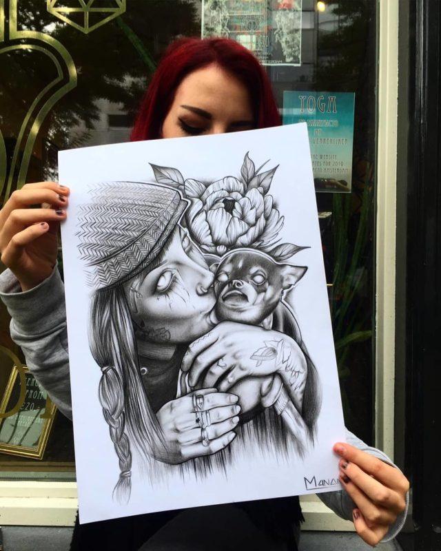 Manon Lighthart Drawing