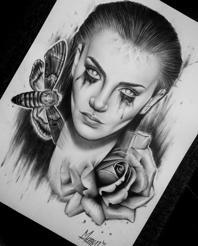 Manon Lighthart Drawing