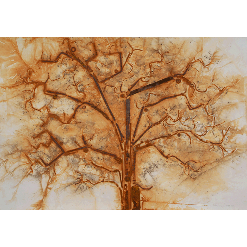 Mariana Oliveira Rust print