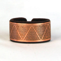 copper bracelet, Sacred geometry bracelet, Leather bracelet, Psywear, tribal jewellery, Sacred Geometry Jewelry, Copper cuff bracelet, Bangle Bracelet, Unique Jewelry, etched cuff, Copper bangle