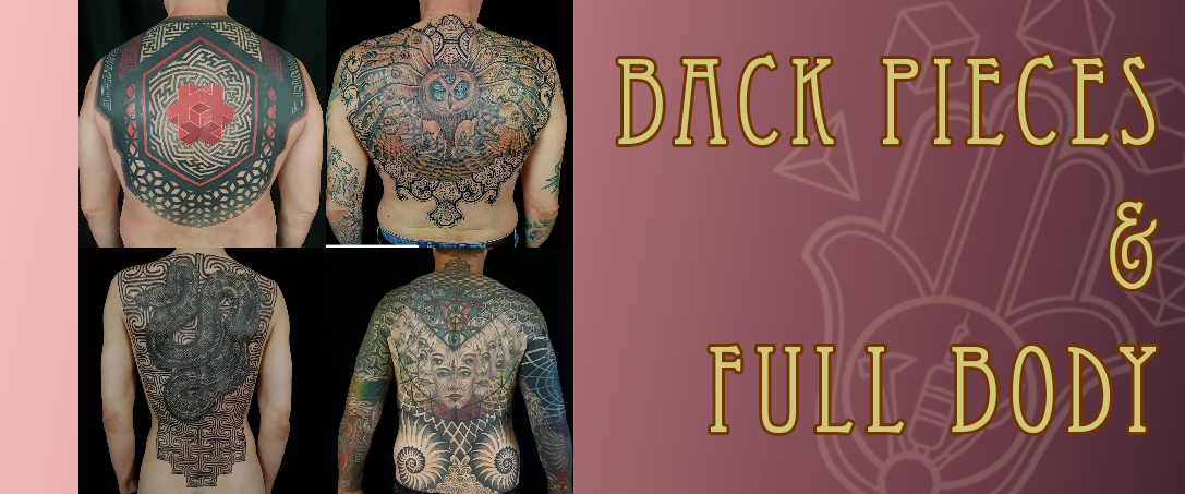 Back pieces & full body tattoos