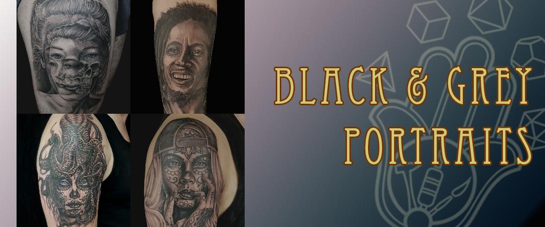 Blk & Grey portraits