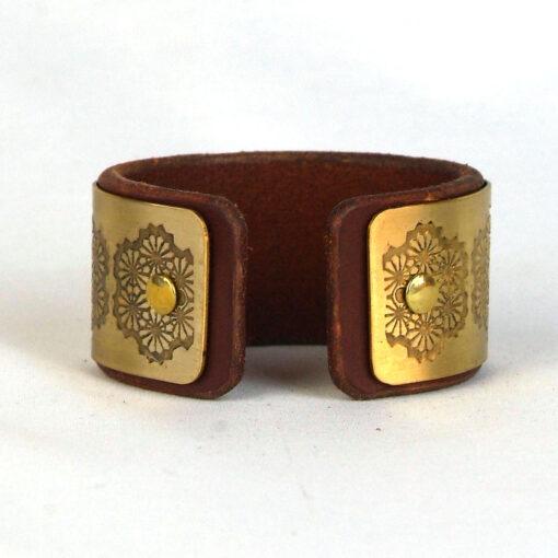 Geometric Flower Bracelet