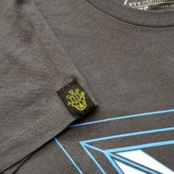 Here now love grey tshirt, Manifacto Amsterdam
